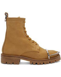 Tan Nubuck Lyndon Boots