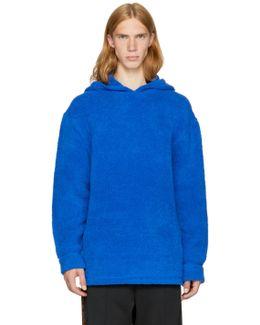 Blue Fleece Hoodie