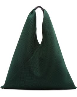 Green Mesh Tote