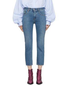 Blue Vintage Slim Jeans