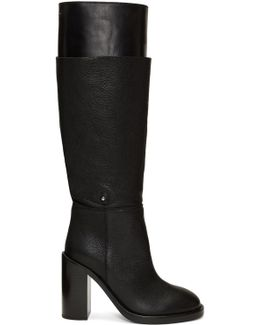 Black Layered Boots