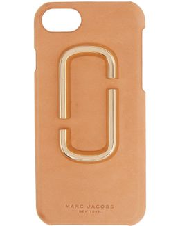 Tan Leather Iphone 7 Case