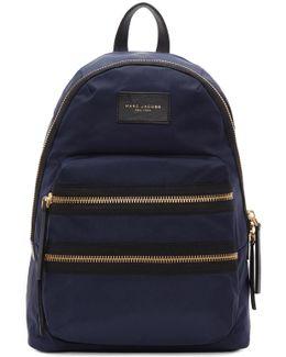 Navy Biker Backpack