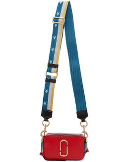 Red Small Snapshot Bag