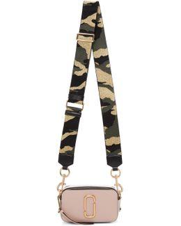 Pink & Silver Small Snapshot Bag