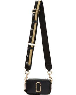 Black Small Snapshot Bag