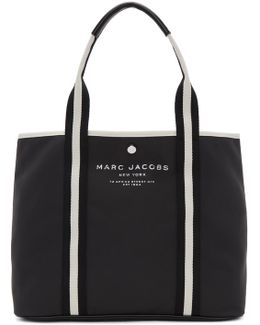 Black East/west Tote
