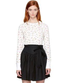 Ivory Mini Rose T-shirt
