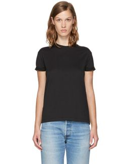 Black Superfine Jersey Crewneck T-shirt
