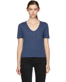 Navy Pocket T-shirt