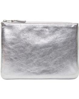 Silver Zip Pouch