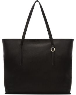 Black Big Shopper Tote