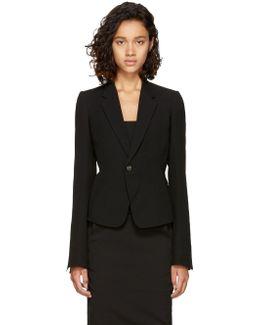 Black Short Blazer