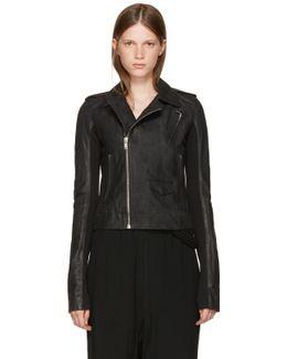 Black Leather Classic Stooges Jacket