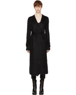 Black Robe Cardigan