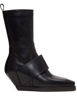 Black Walrus Cowboy Boots