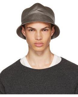 Grey Gilligan Bucket Hat
