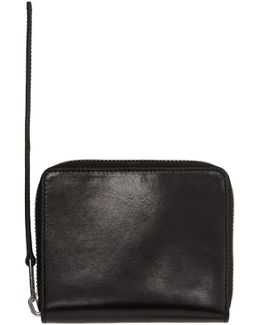 Black Small Zipped Wallet