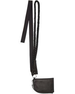 Black Neck Wallet