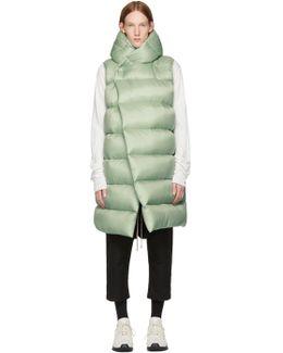 Green Down Liner Vest