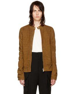 Tan Leather Rick's Jacket