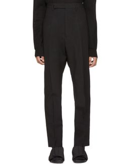 Black Astaires Trousers