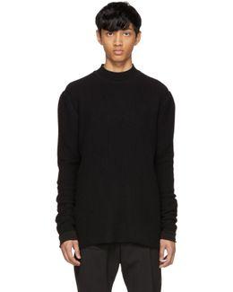 Black Level Lupetto Sweater