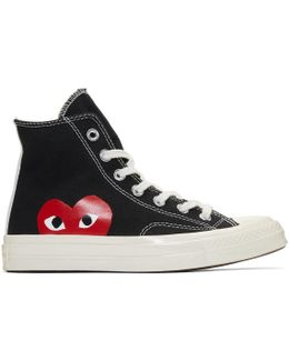 Black Converse Edition Chuck Taylor All-star '70 High-top Sneakers