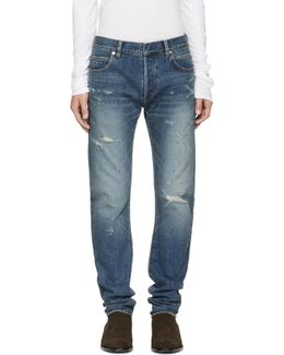 Blue Twist Vintage Jeans