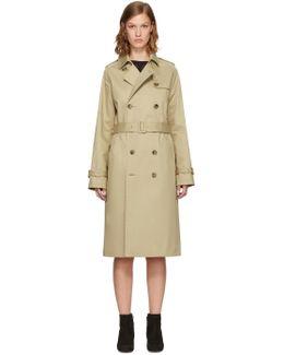 Beige Greta Trench Coat