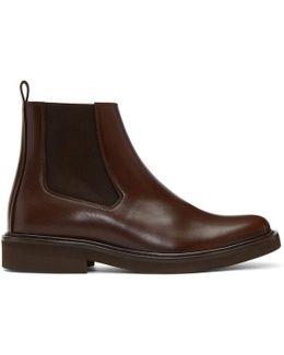 Brown Felicie Chelsea Boots