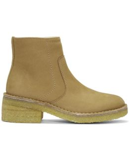 Tan Ariette Boots