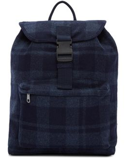 Navy Clip Backpack