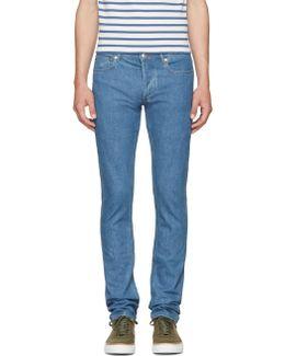 Indigo Petit Standard Jeans