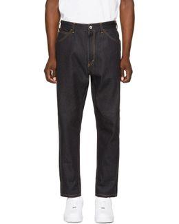 Indigo Slim Jeans