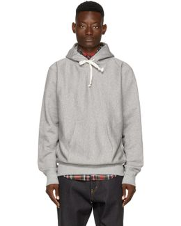 Grey 'man Can't Live Without Hip' Hoodie