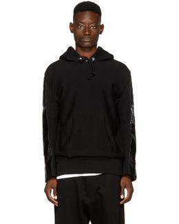 Black The North Face Edition Duffle Bag Hoodie