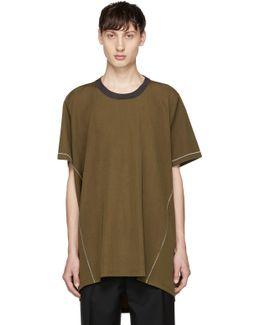 Green Basic Long T-shirt