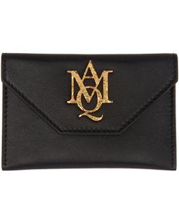 Black Insignia Envelope Card Holder