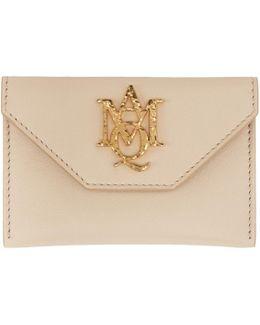 Pink Insignia Envelope Card Holder