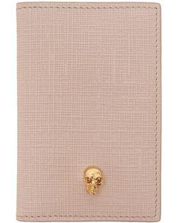 Pink & Gold Skull Pocket Organizer