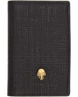 Black & Gold Skull Pocket Organizer