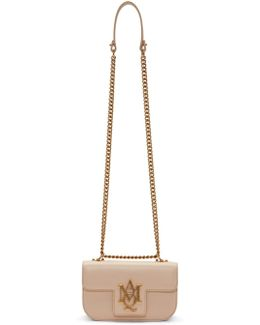 Pink Small Insignia Chain Satchel