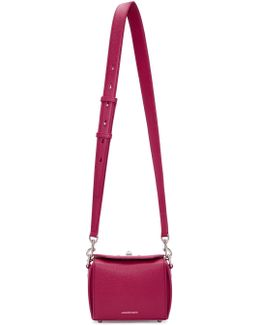 Pink Leather Box 16 Bag