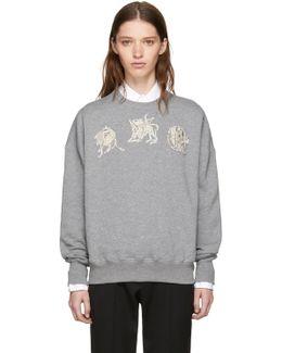 Grey Mythical Logo Sweatshirt