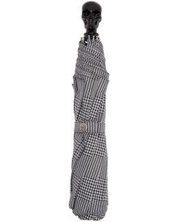 Black & White Prince Of Wales Umbrella