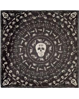 Black Bones Scarf