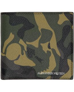 Green Camouflage Wallet