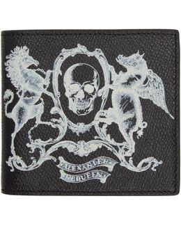 Skull Coat Of Arms Wallet