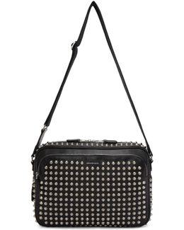 Black Studded Camera Bag